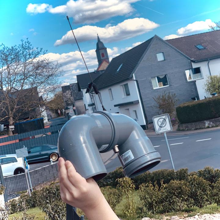 Titelbild Lora-PM-sensor with paxcounter